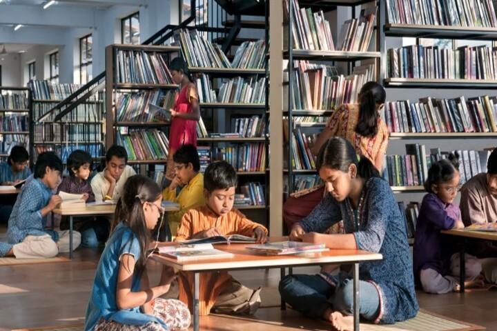 Isha Home School-Junior Library