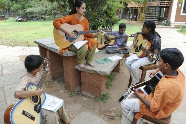 Isha Home School-Music Class