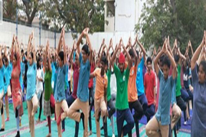 Chettinad Hari Shree Vidyalayam-International Yoga Day