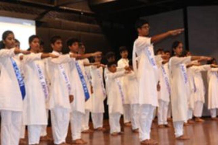 Chettinad Hari Shree Vidyalayam-Investiture Ceremony