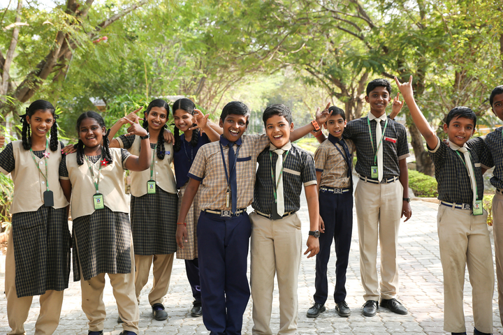 Shiksha Greenwoods School-Students