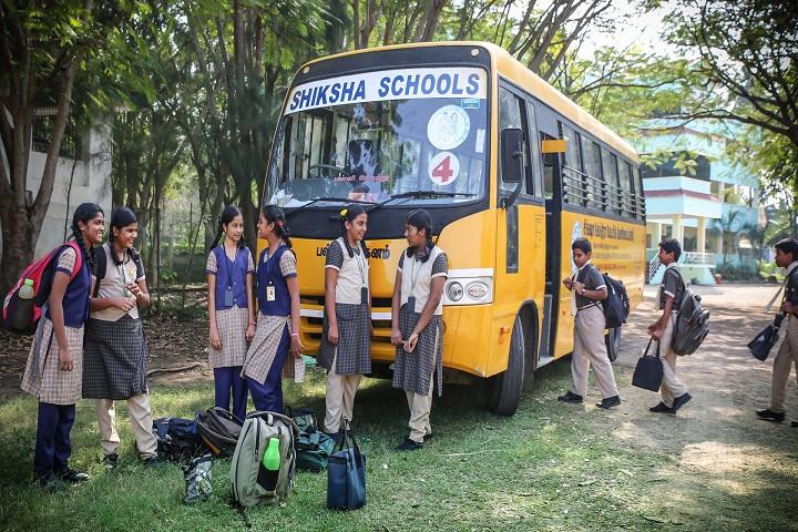 Shiksha Greenwoods School-Bus