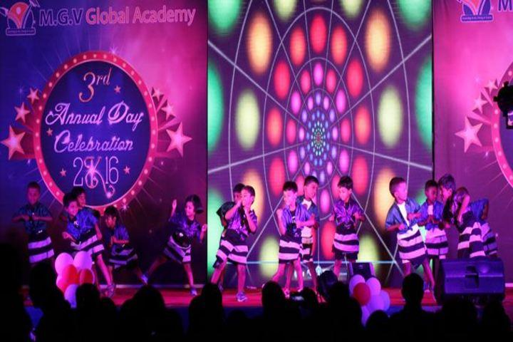 M G V Global Academy-Junior Dance