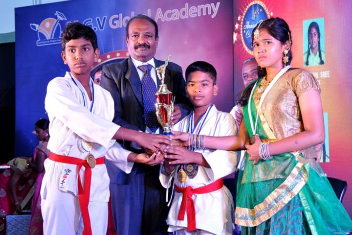 M G V Global Academy-Karate Champions