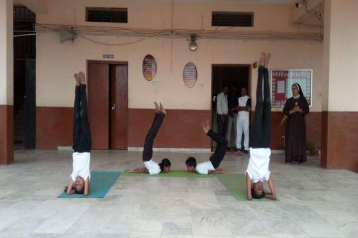 Carmel Public School-International Yoga Day