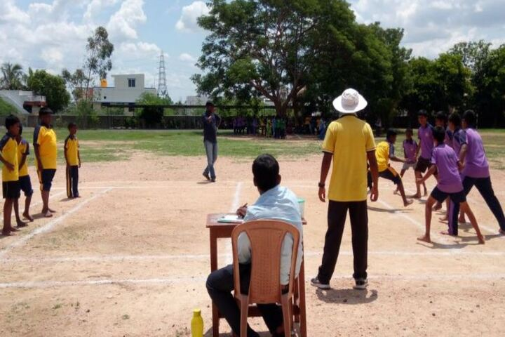 Carmel Public School-Kabadi Competition