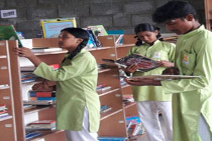 Ishethra International Residential School-Library