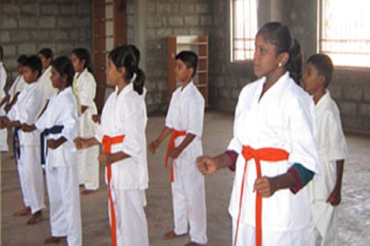 Ishethra International Residential School-Karate
