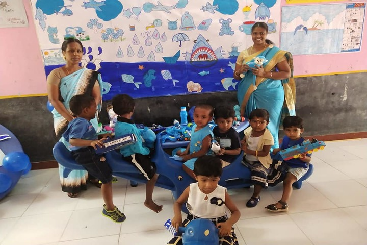 Shri Vijayalakshmi Vidhyalayaa International School-Blue Day
