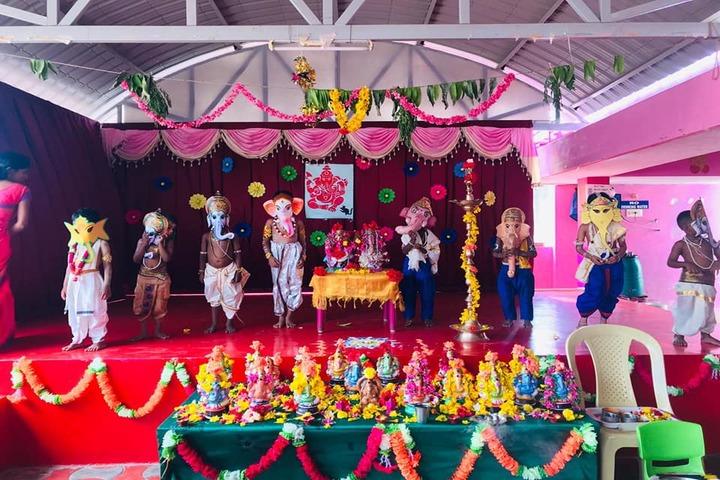 Shri Vijayalakshmi Vidhyalayaa International School-Festival Celebration
