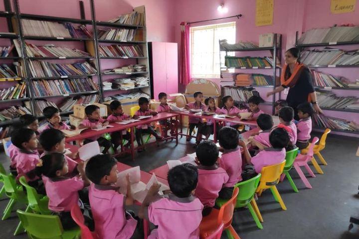 Shri Vijayalakshmi Vidhyalayaa International School-Library