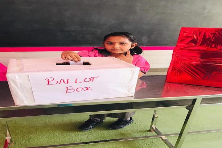 Shri Vijayalakshmi Vidhyalayaa International School-School Election