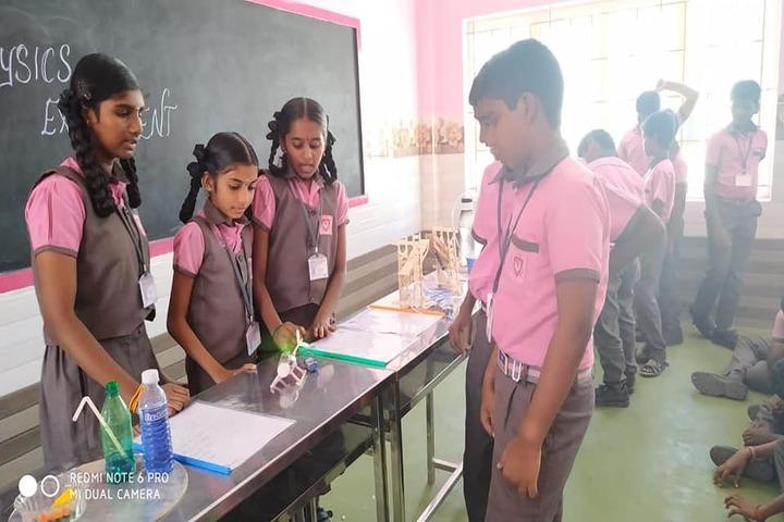 Shri Vijayalakshmi Vidhyalayaa International School-Science Exhibition