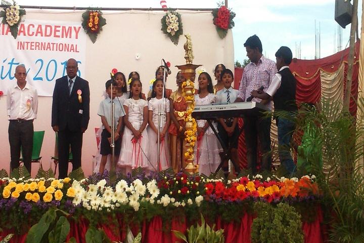 Santa Maria Academy International School-Singing