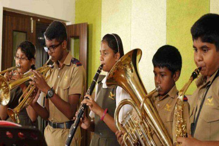 The Hyderabad Public School-Band Troop