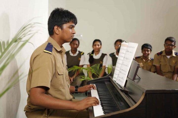 The Hyderabad Public School-Music room