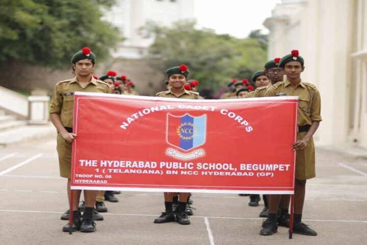 The Hyderabad Public School-NCC