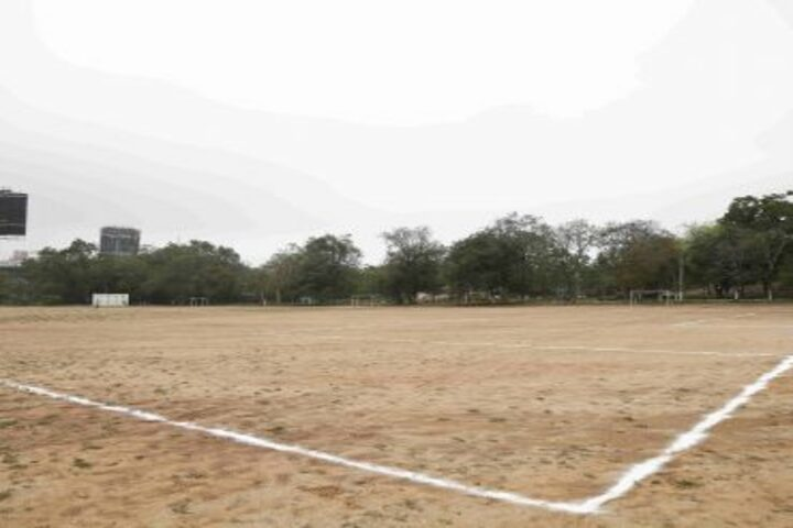 The Hyderabad Public School-Play Ground