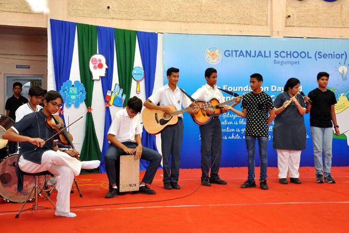 Gitanjali School-Music Activity