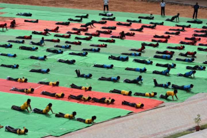 Sherwood Public School-Yoga day
