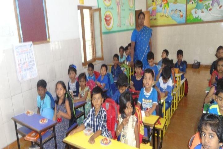 St Pious X School-Classroom