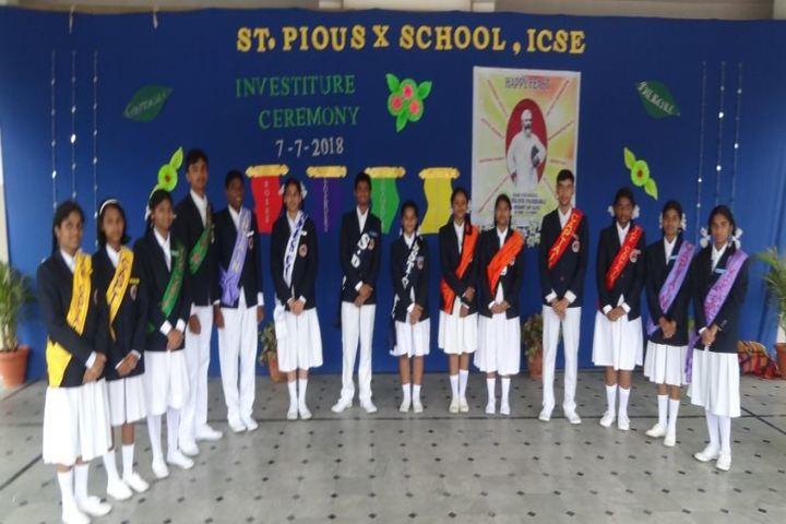 St Pious X School-Investiure Ceremony