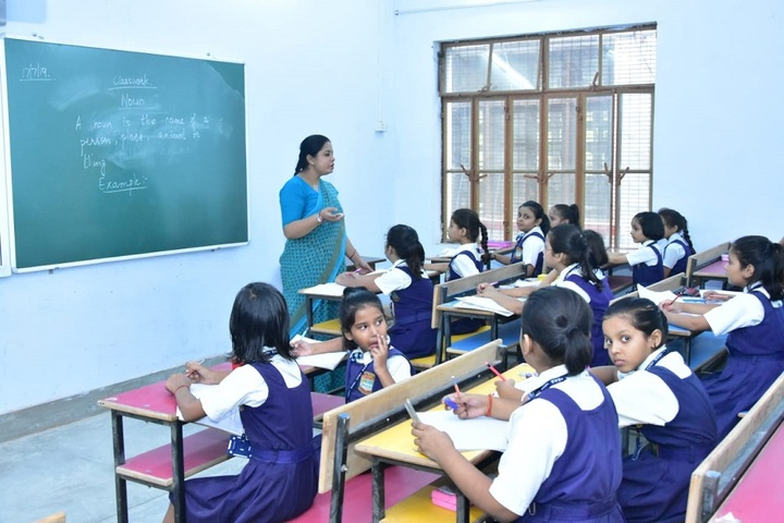 Girls High School and College-Classroom