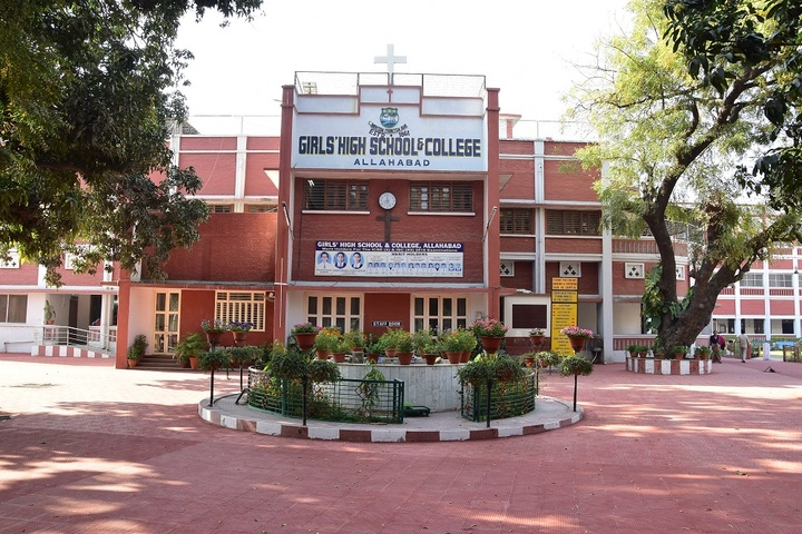 Girls High School and College-School Building
