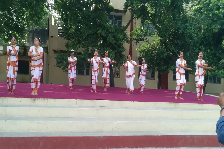 Girish Prasad Memorial College-Dancing Activity