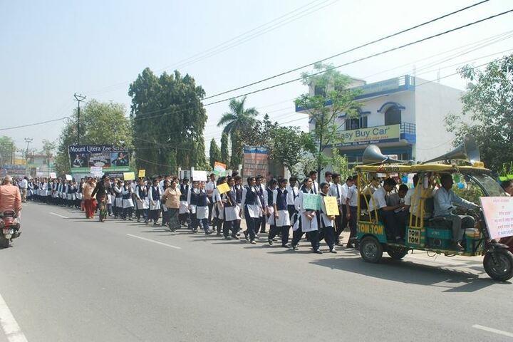 St Mary S School-Rally