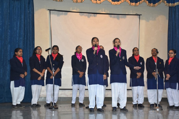 St Francis Convent Inter College-Group Singing
