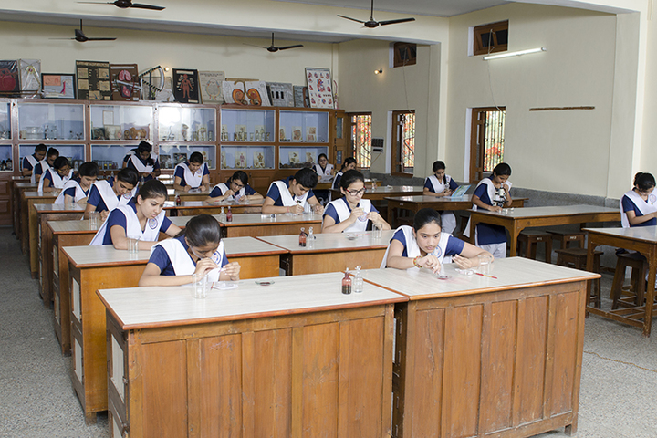 St Francis Convent Inter College-Biology Lab