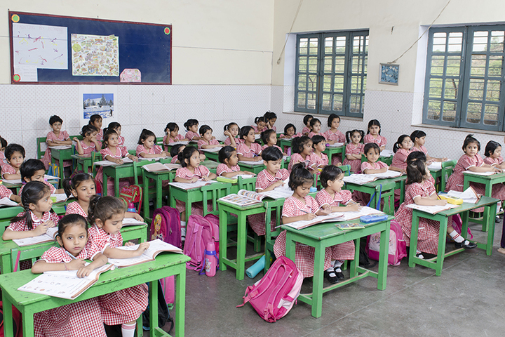 St Francis Convent Inter College-Classroom
