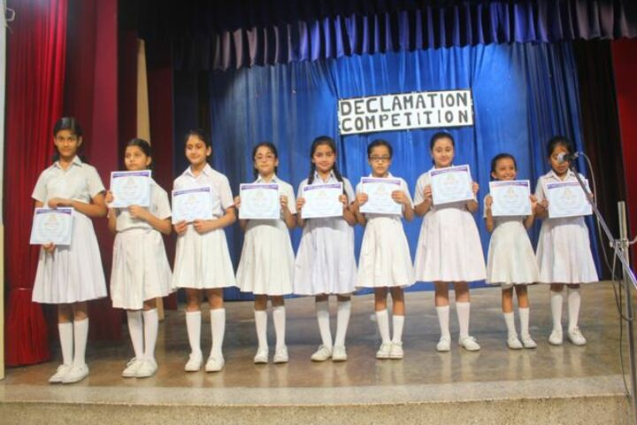 St Mary S Convent High School-Declamation Competition