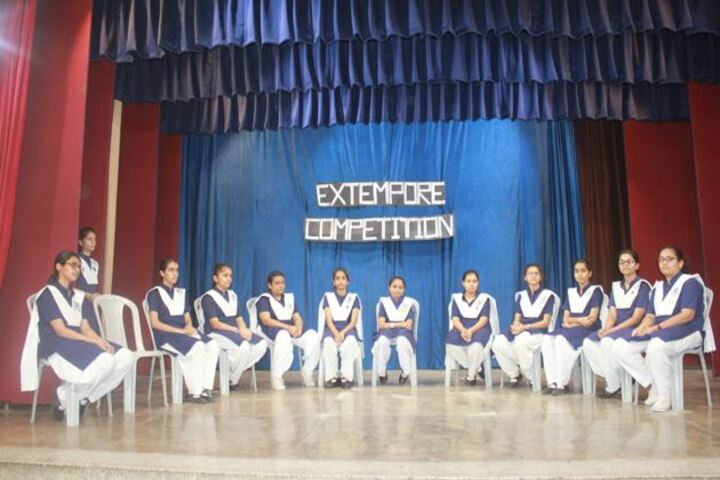 St Mary S Convent High School-Extempore Competition