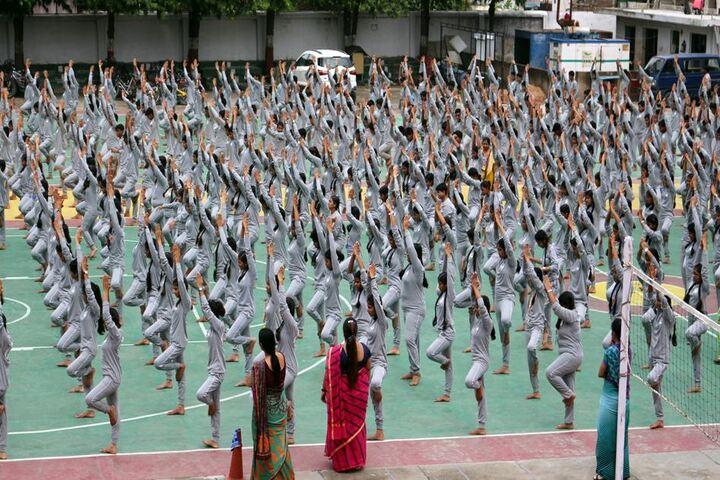 Mercy Memorial School-Yoga Activity