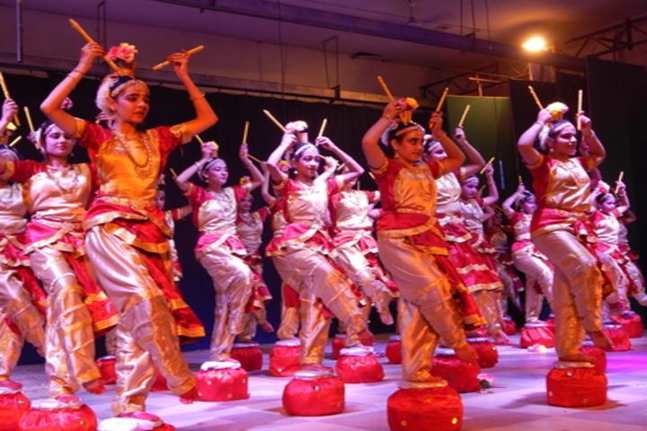 La Martiniere Girls College-Dancing Activity