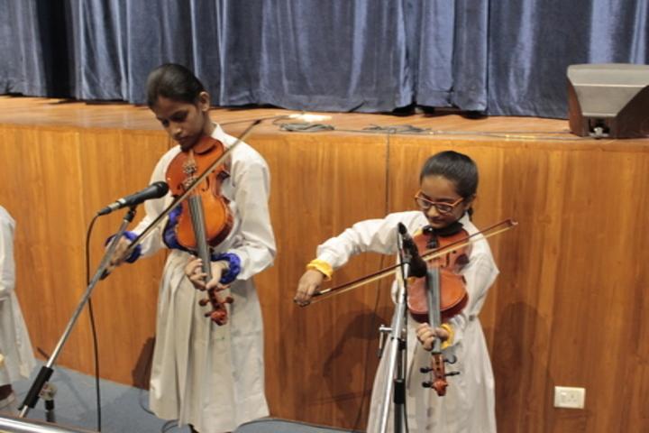 La Martiniere Girls College-Music Activity