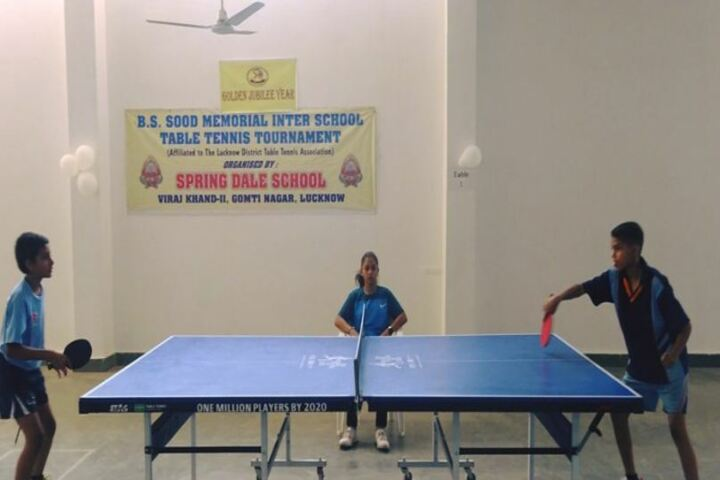 Spring Dale College-Indoor Games