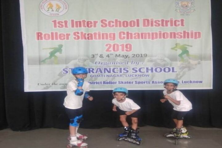 Spring Dale College-Skating Champions