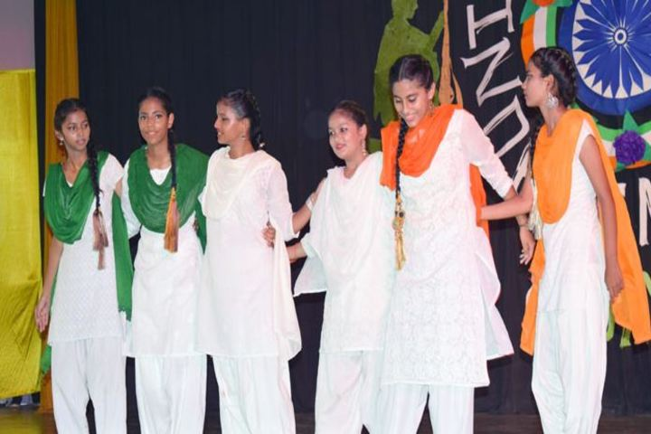 St Dominic Savio School-Dance on Independence Day