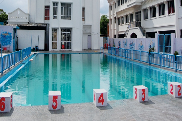 City Montessori High School-Swimming Pool