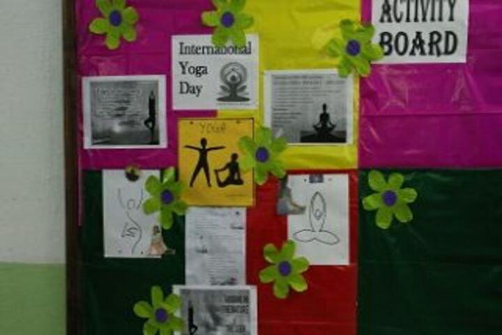 City Montessori High School-Activity Board