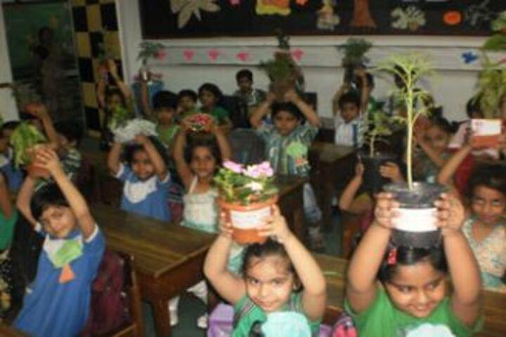 City Montessori High School-Green Day Celebrations