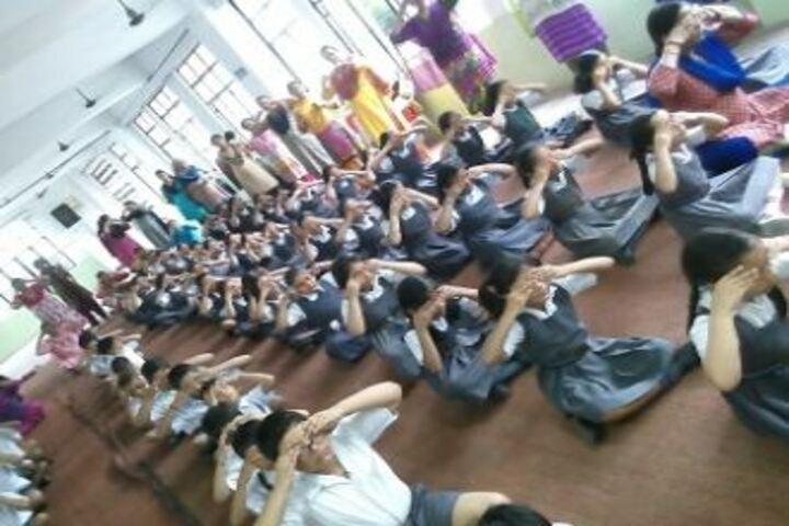 City Montessori High School-yoga