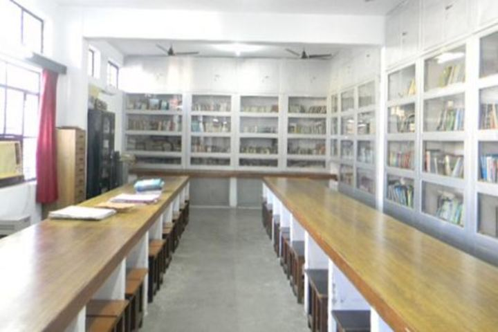 City Montessori Inter College-Library