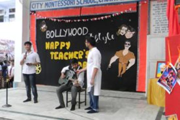 City Montessori Inter College-Singing