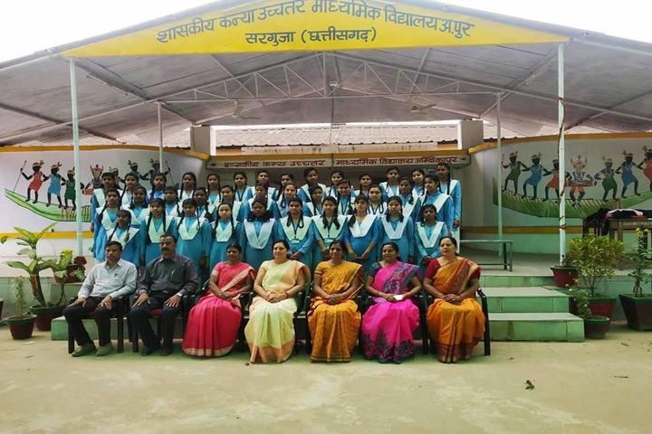 Govt Girls Higher Sec School Surguja-Class Photo