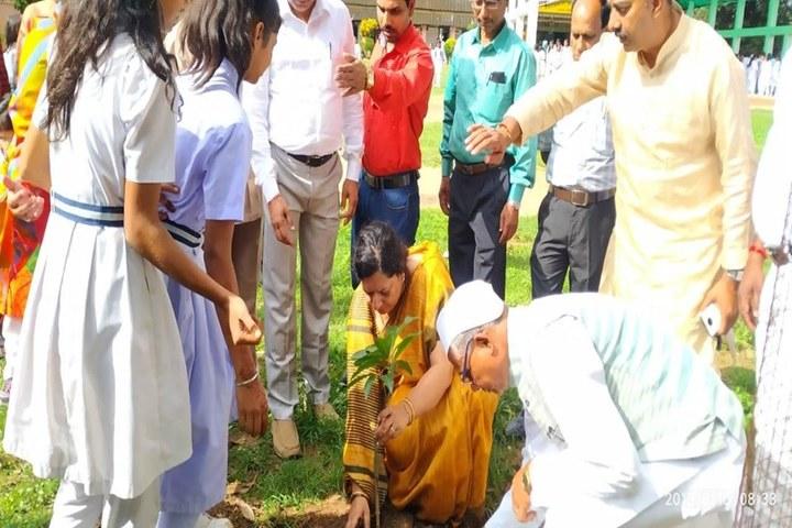 Govt Girls Higher Sec School Surguja-World Environment Day
