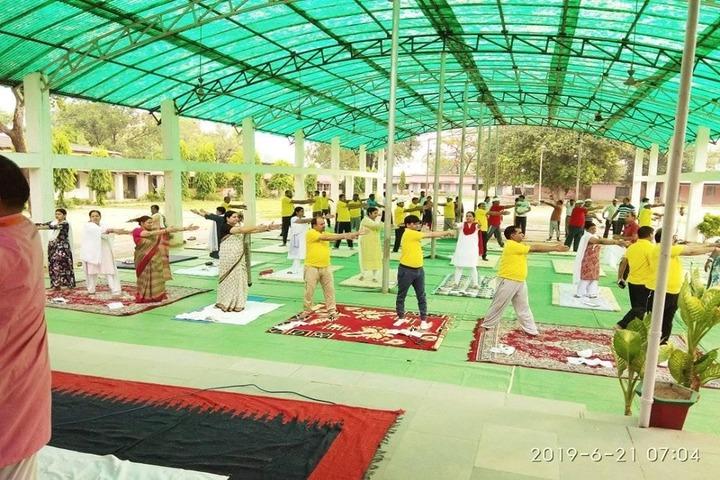 Govt Girls Higher Sec School Surguja-Yoga Day